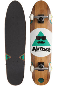 "Almost Moe Bamboo 7.9"" x 31.2"" Cruiser (brown)"