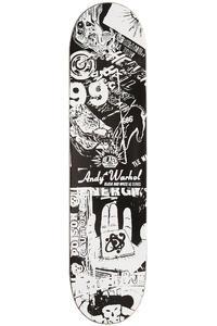 "Alien Workshop Logo Andy Warhol B&W Series 7.75"" Deck (black white)"