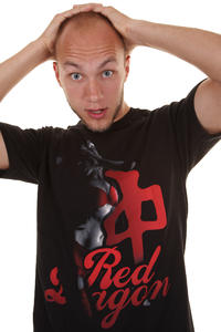Red Dragon Sin City T-Shirt (black)