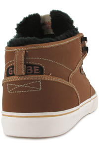 Globe Motley Mid Shoe (toffee black fur)