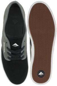 Emerica Laced Schuh (black grey gum)