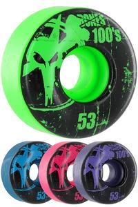 Bones 100's-OG #11-Party-Pack 53mm Rollen (multi) 4er Pack