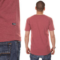 Cleptomanicx Ligull Henley T-Shirt (heather dried tomato)
