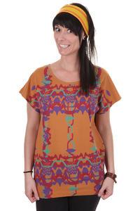 Cleptomanicx Popokatepetl T-Shirt women (sudan brown)