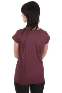 Cleptomanicx Möwe Scoop T-Shirt women (burgundy)