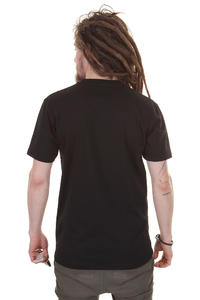 Cleptomanicx Punker Toast T-Shirt (black)