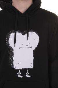 Cleptomanicx Toast Hoodie (black)