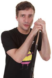 Cleptomanicx Super Zitrone T-Shirt (black)