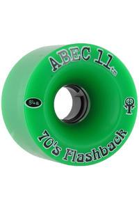 ABEC 11 Flashbacks 70mm 84A Rollen (green) 4er Pack