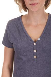 Iriedaily Serafina T-Shirt women (dark purple melange)