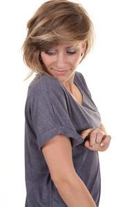 Iriedaily Oversized T-Shirt women (dark purple melange)