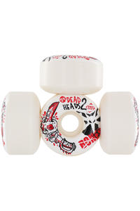 Bones STF Dead Heads II 54mm Rollen (white) 4er Pack
