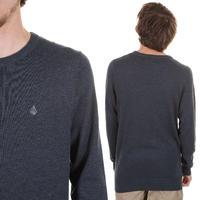 Volcom Standard Crew Sweatshirt (dark navy)