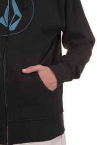 Volcom Original Stone Zip-Hoodie (black)