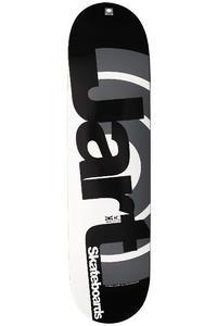"""Jart Skateboards Duo II Logo 8"""" Deck (black)"""