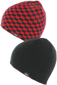 Vans Which Way Now Beanie reversible  (reinvent red black)