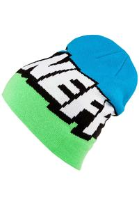 Neff Cartoon Mütze (slime black cyan)