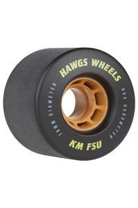 Hawgs KMFSU 70mm 80A Freeride Rollen 4er Pack (black)