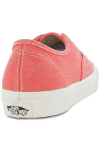 Vans Authentic Slim Schuh women (washed hot coral)