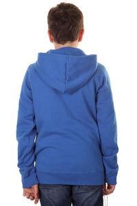 C1RCA Mainline Font Zip-Hoodie kids (royal blue)