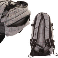 Forvert New Louis Rucksack (caro grey black)