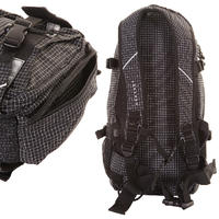 Forvert New Louis Rucksack 20L (small black checked)