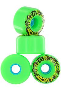 Cult Classic 70mm 80a Rollen 4er Pack  (green)