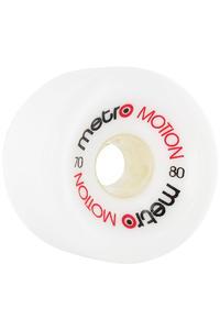 Metro Wheels Motion 70mm 80A Rollen (white) 4er Pack