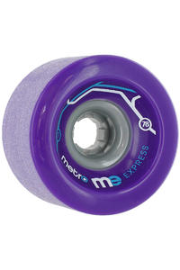 Metro Wheels Express 77mm 78A Rollen (purple) 4er Pack