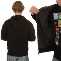 Dickies Thermal Lined Fleece Zip-Hoodie (black)
