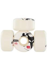 Bones STF-Thin 49mm Rollen 4er Pack  (white)