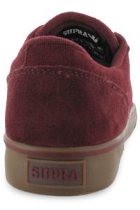 Supra Amigo Suede Schuh (burgundy white)