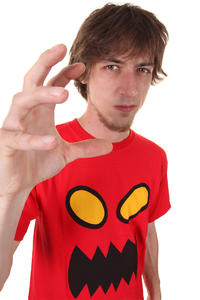 Toy Machine Monster Face T-Shirt (red)