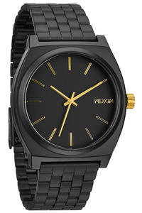 Nixon The Time Teller Watch (matte black gold)