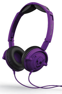 Skullcandy Lowrider Kopfhörer mit Mikro  (athletic purple)