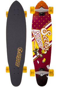 "Sector 9 Campus Crusher 36"" (91,5cm) Complete-Longboard (red)"