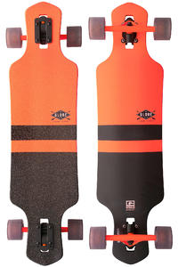 "Globe Geminon 35"" (89cm) Komplett-Longboard (fluoro orange black)"
