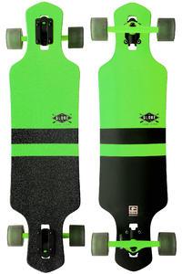 "Globe Geminon 38.5"" (98cm) Komplett-Longboard (fluoro green black)"