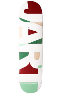 "Jart Skateboards Puzzle Logo 7.75"" Deck (red)"