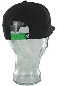 Famous Think Fast Snapback Cap (black lime white)