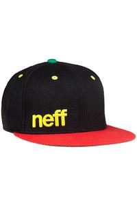 Neff Daily Snapback Cap (rasta)