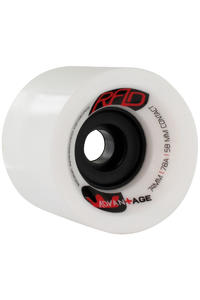 R.A.D. Advantage 74mm 78A Rollen (white) 4er Pack