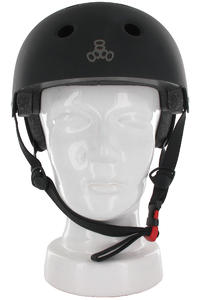 Triple Eight Brainsaver Helm (all black rubber)