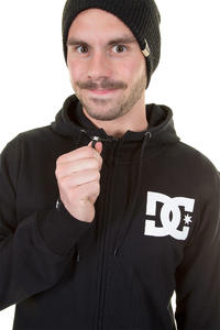 DC Tone Snow Zip-Hoodie (black)