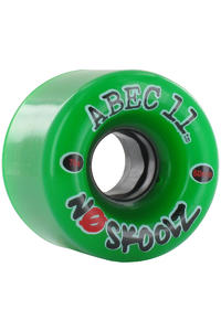 ABEC 11 No Skoolz 60mm 78a Wheel (green) 4 Pack