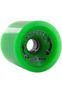 ABEC 11 Classic Centrax 77mm 78A Wheel (green) 4 Pack