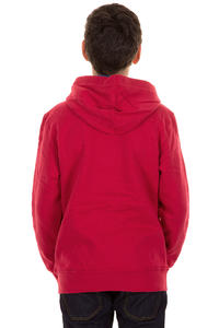 Etnies Corporate Zip-Hoodie kids (red)