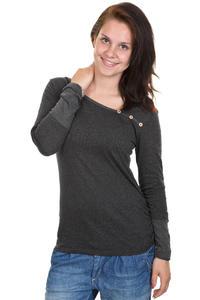 Iriedaily Asym Stripe Button Longsleeve women (anthracite melange)