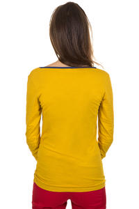 Iriedaily Asym Button Longsleeve women (gold yellow)