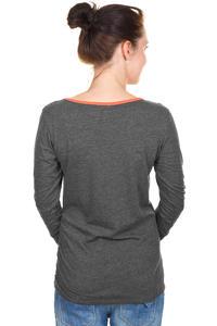 Iriedaily Asym Button Longsleeve women (anthracite melange)